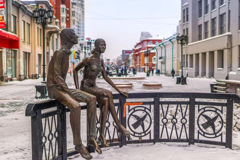 Скульптура «Влюблённые» — ParkSeason