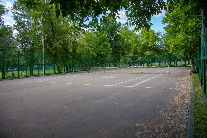 Теннисный корт, Усадьба «Лефортово», Москва — ParkSeason