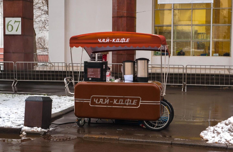 Киоск «Чай-Кофе», ВДНХ, Москва — ParkSeason