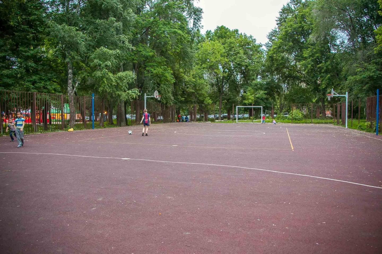 Футбольно-баскетбольное поле — ParkSeason