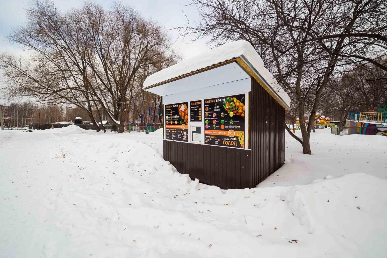 Киоск Мороженое — ParkSeason