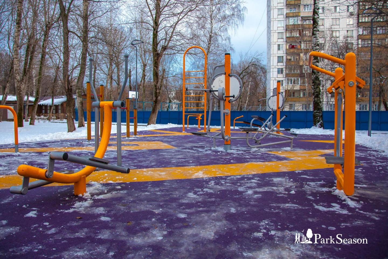 Уличные тренажеры, Парк «Перовский», Москва — ParkSeason