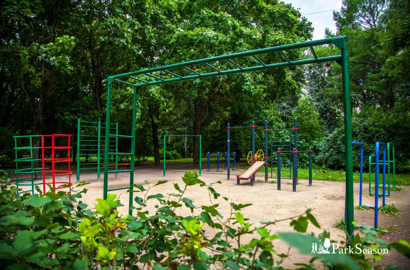 Площадка WorkOut — ParkSeason