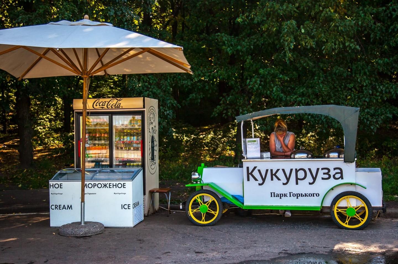 Мороженое, Воробьевы горы, Москва — ParkSeason