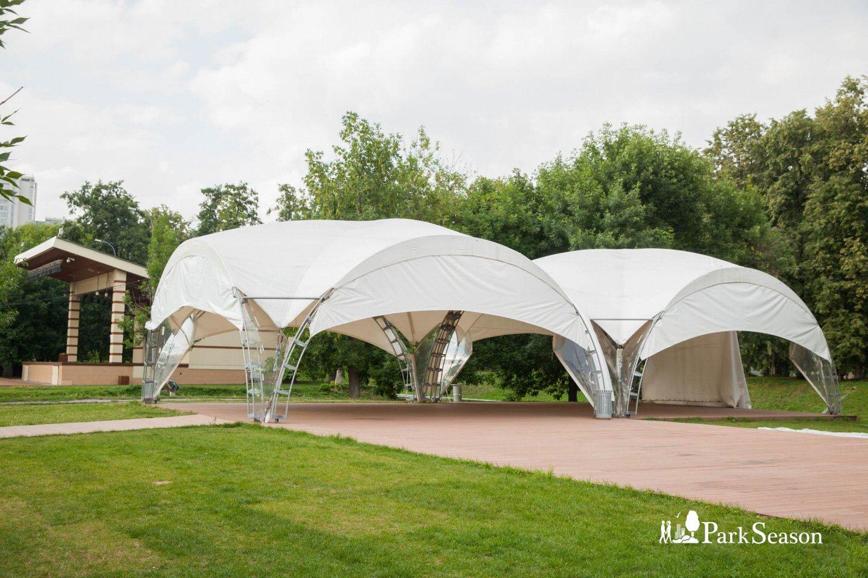 Шатры, Парк «Красная Пресня», Москва — ParkSeason