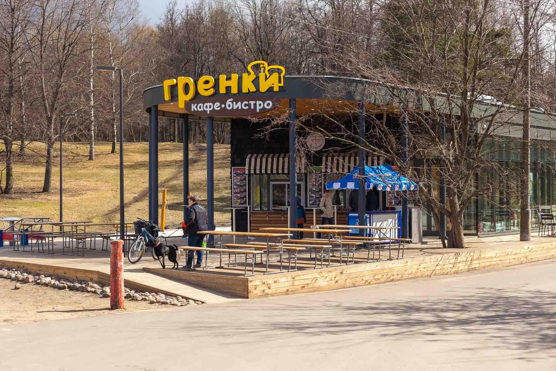 Кафе-бистро «Гренки», Парк «Кузьминки», Москва — ParkSeason