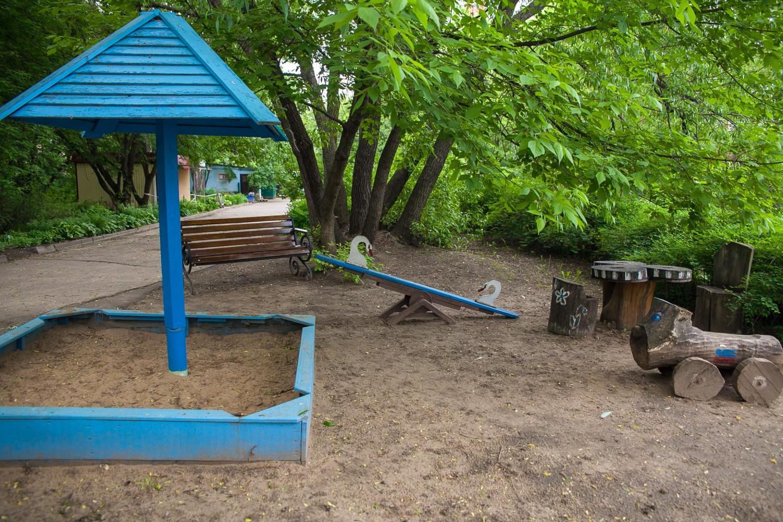 Детская площадка на территории храма — ParkSeason