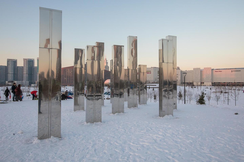 Зеркальный лабиринт, Ходынское поле, Москва — ParkSeason
