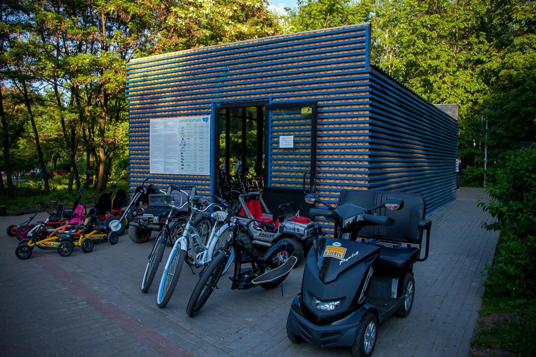 Пункт проката спортивного инвентаря, Парк «Северное Тушино», Москва — ParkSeason