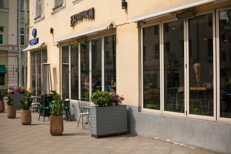 Ресторан Extra Virgin, Чистые пруды, Москва — ParkSeason