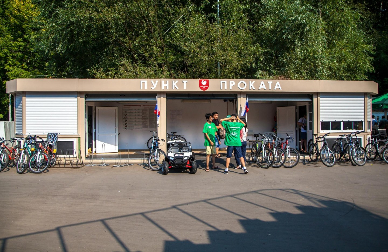 Пункт проката спортинвентаря, Парк «Измайловский», Москва — ParkSeason