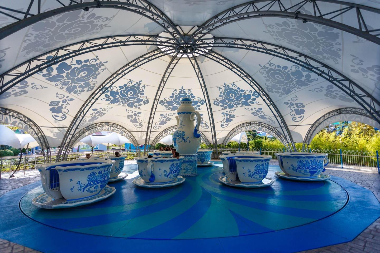 Аттракцион «Чайные чашки» — ParkSeason