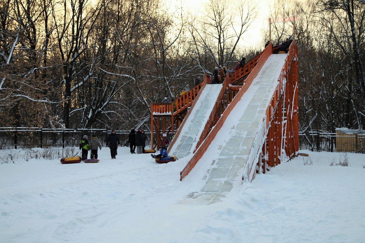Тюбинг, Парк «Измайловский», Москва — ParkSeason