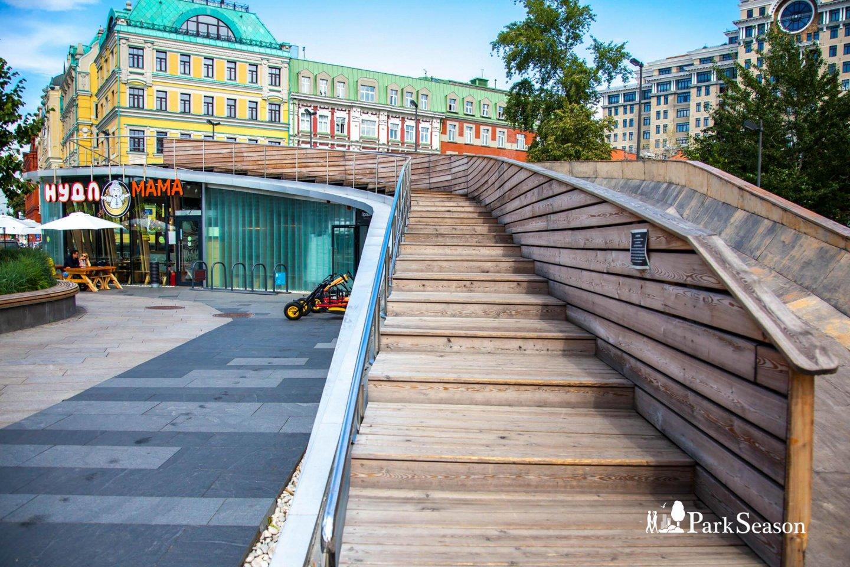 Кафе «Нудл мама», «Музеон», Москва — ParkSeason