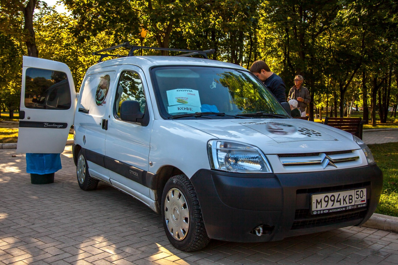 Фургон Non Solo Caffe, Парк «Новодевичьи пруды», Москва — ParkSeason