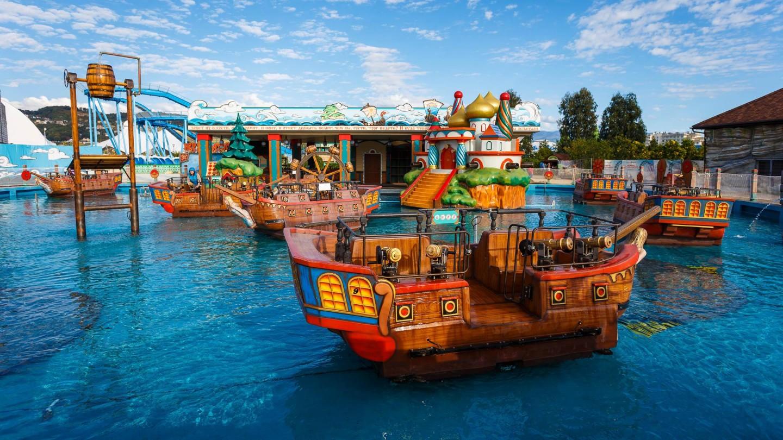 Аттракцион «Остров Буян» — ParkSeason