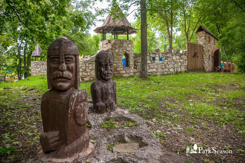 Скульптура «Богатыри» — ParkSeason