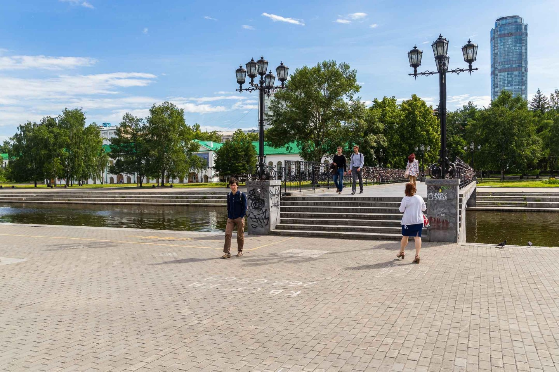 Пешеходный мост — ParkSeason