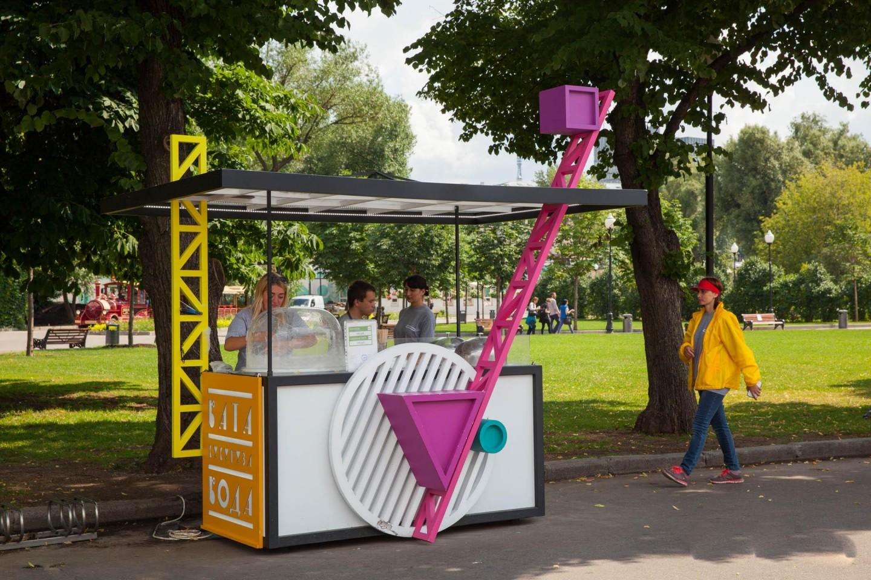 Сладкая сахарная вата, Парк Горького, Москва — ParkSeason