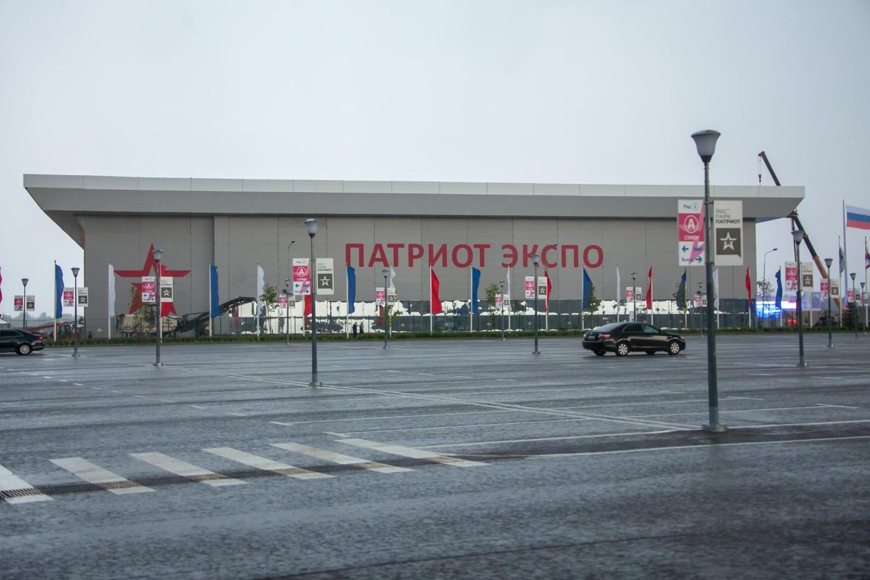 Парковка, Парк «Патриот», Москва — ParkSeason