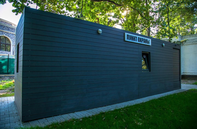 Посты охраны, Парк имени Льва Толстого (Химки), Москва — ParkSeason
