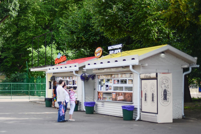 Киоск GlowSubs, Нескучный сад, Москва — ParkSeason