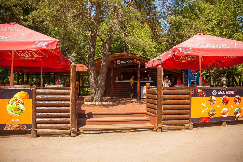 Кафе «Grill House» — ParkSeason