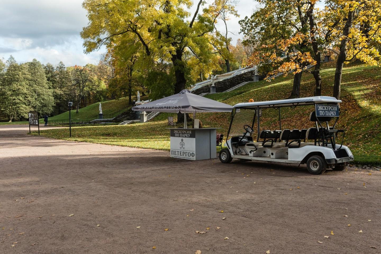 Экскурсия по парку на электромобиле — ParkSeason