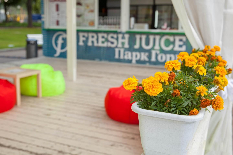 Киоск Fresh Juice, Парк Горького, Москва — ParkSeason