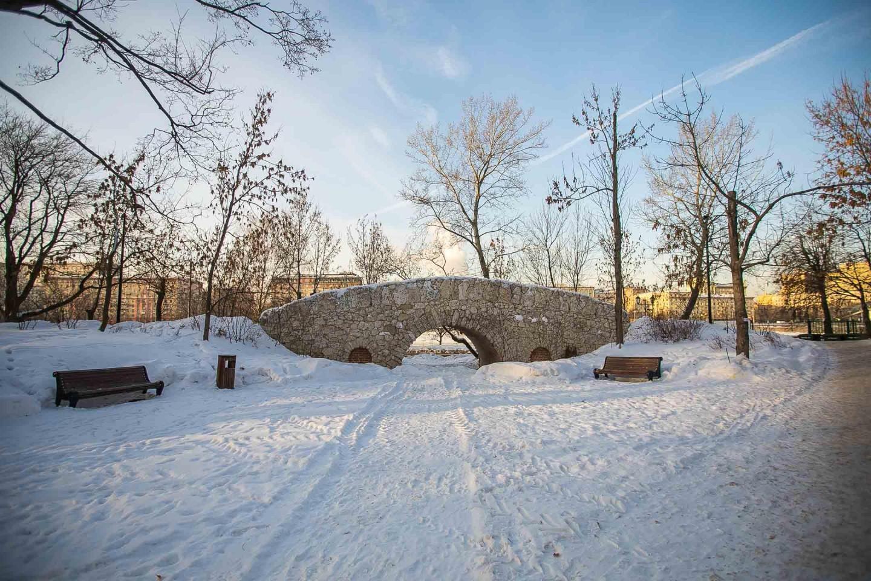 Грот графа Орлова, Нескучный сад, Москва — ParkSeason