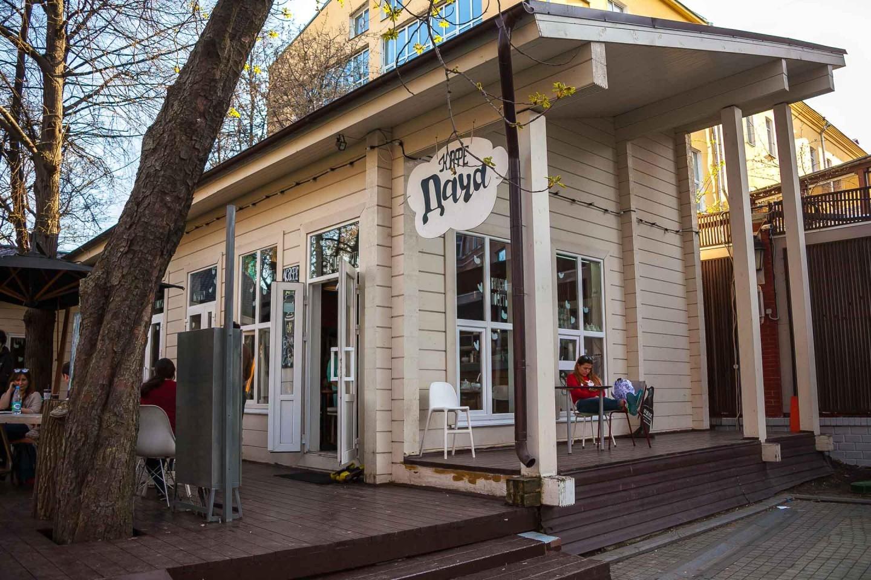 Кафе «Дача», Сад «Эрмитаж», Москва — ParkSeason