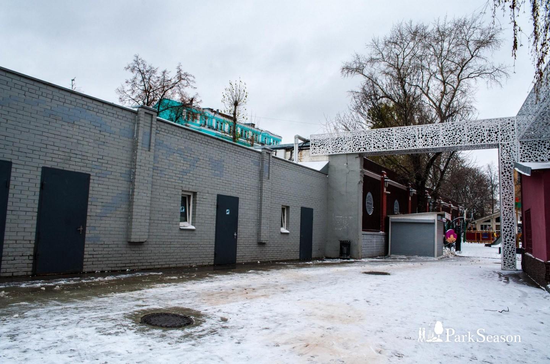Туалет, Сад «Эрмитаж», Москва — ParkSeason