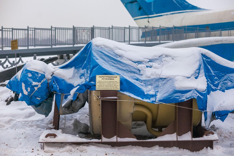 Паротурбинная установка, Парк «Северное Тушино», Москва — ParkSeason