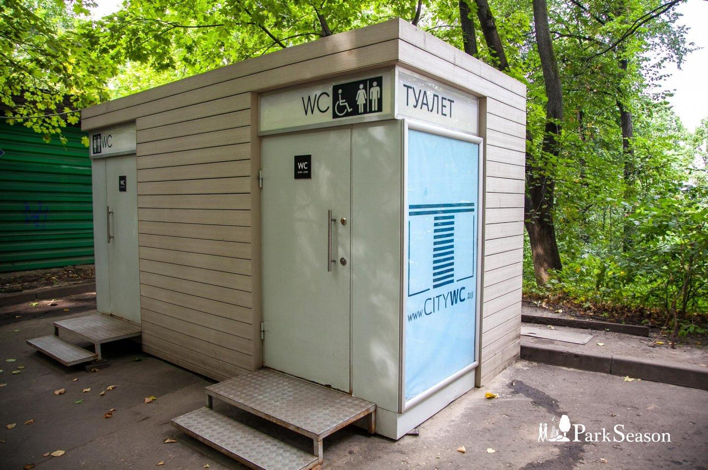 Туалет, Воробьевы горы, Москва — ParkSeason