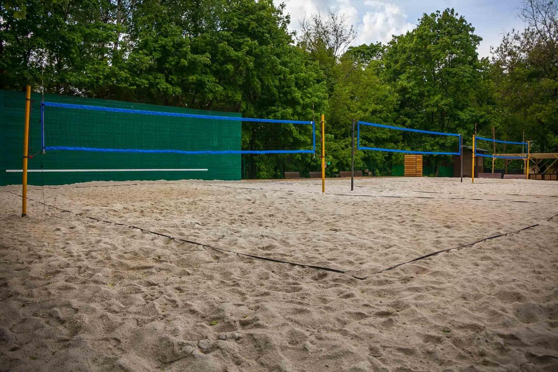 Площадка для пляжного волейбола (закрыта до мая 2019) — ParkSeason