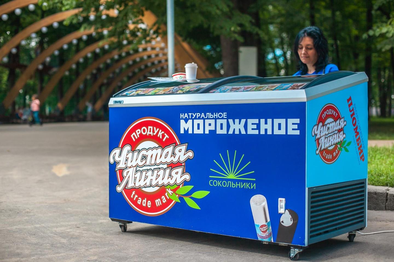 Мороженое «Чистая линия», Парк «Сокольники», Москва — ParkSeason