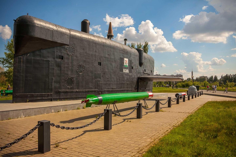 Рубка подводной лодки К-403 «Казань» — ParkSeason