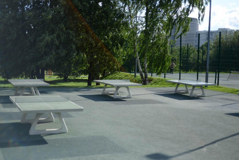 Настольный теннис, Парк «Садовники», Москва — ParkSeason
