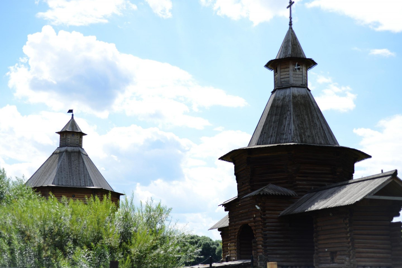 Деревянная церковь, Усадьба «Коломенское», Москва — ParkSeason