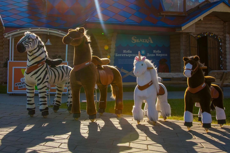 Прокат игрушечных лошадей — ParkSeason