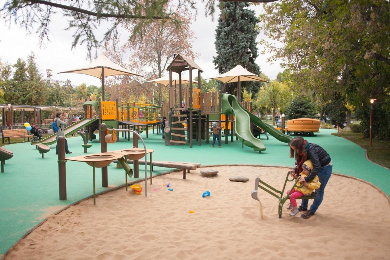 Детская инклюзивная площадка, ВДНХ, Москва — ParkSeason