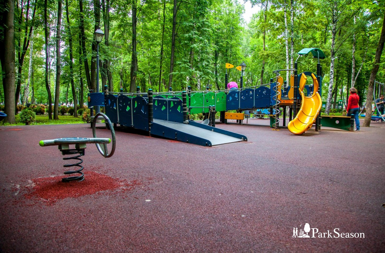 Площадка для детей с ограниченными возможностями здоровья, Парк «Бабушкинский», Москва — ParkSeason