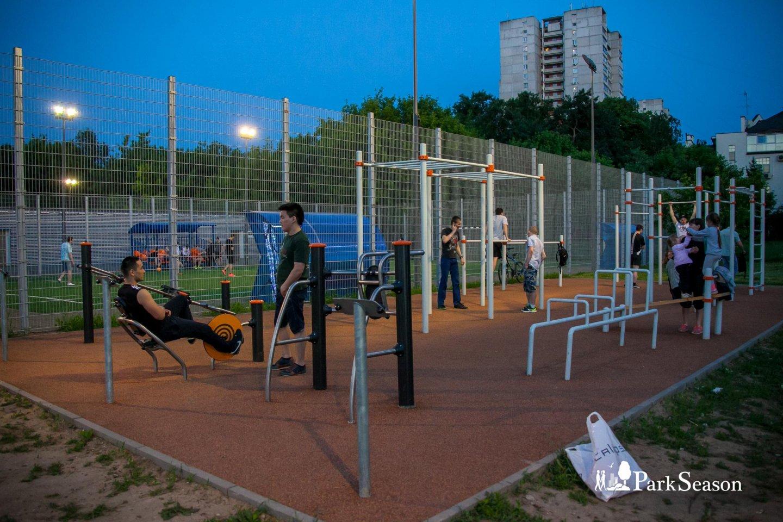 Площадка WorkOut, Парк «Северное Тушино», Москва — ParkSeason