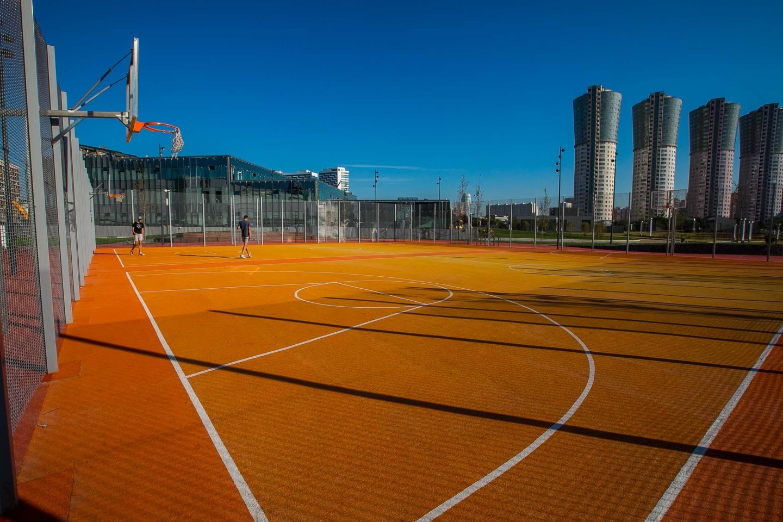 Баскетбольная площадка, Ходынское поле, Москва — ParkSeason