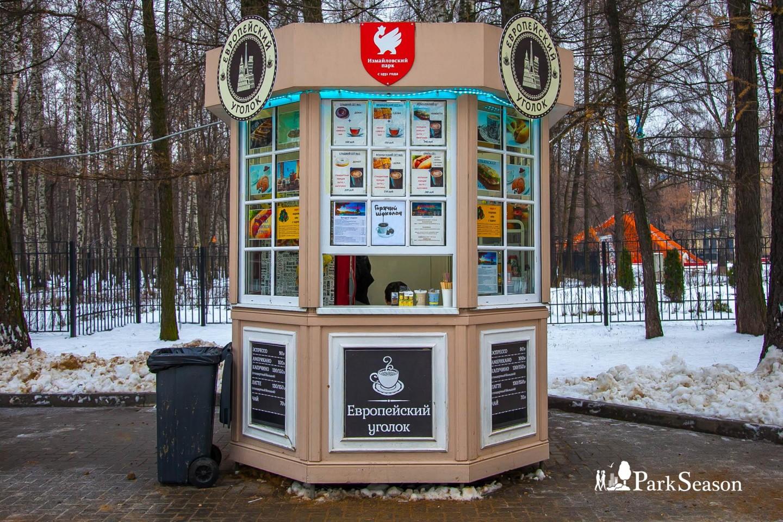 Киоск «Европейский уголок», Парк «Измайловский», Москва — ParkSeason