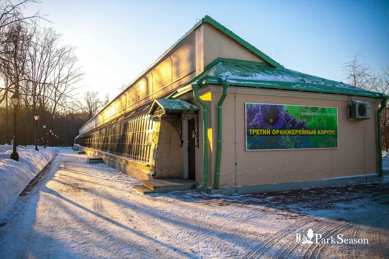 Третий оранжерейный корпус, Музей-заповедник «Царицыно», Москва — ParkSeason