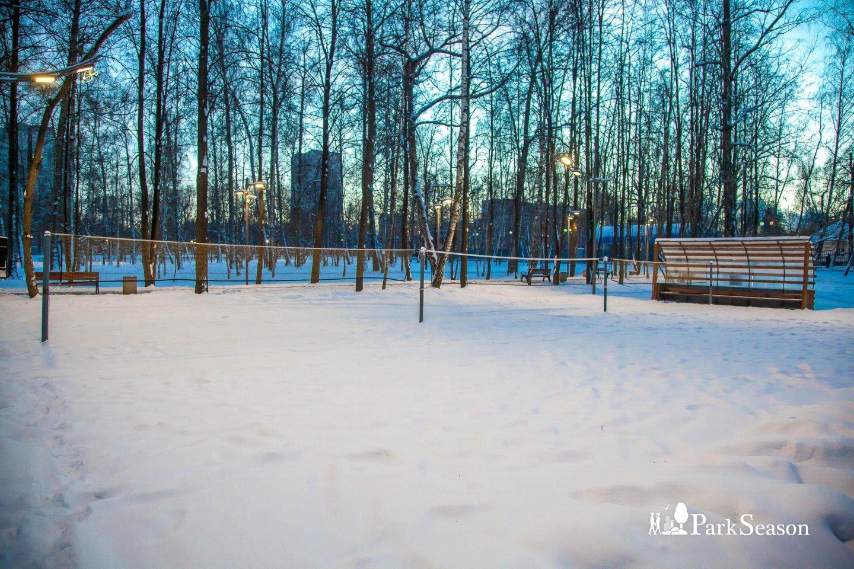 Волейбольная площадка, Лианозовский парк, Москва — ParkSeason