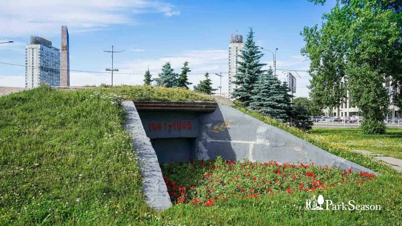 Огневая точка (ДОТ) II мировой войны — ParkSeason