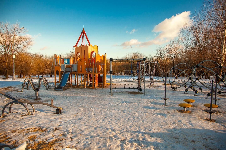 Детская площадка, Усадьба «Коломенское», Москва — ParkSeason