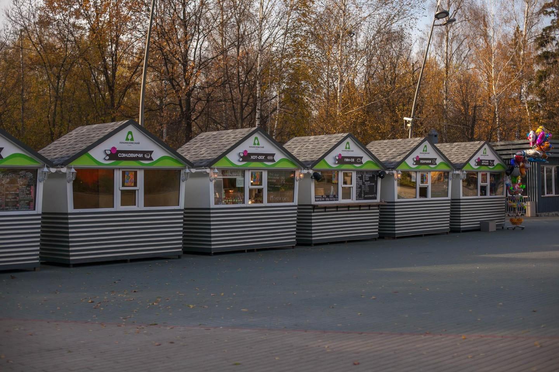 Фуд маркет, Лианозовский парк, Москва — ParkSeason
